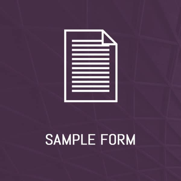 RIA - Sample Form