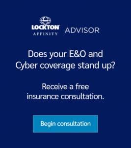 Lockton Affininty - Cyber and E&O