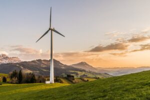 Wind Turbine investment is an example of ESG investing by RIAs, a current SEC focus