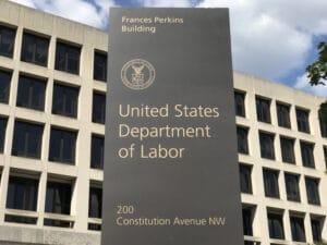 US Department of Labor's Frances Perkins Building